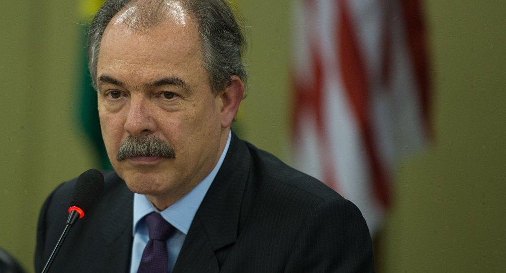Ministro-chefe da Casa Civil Aloizio Mercadante