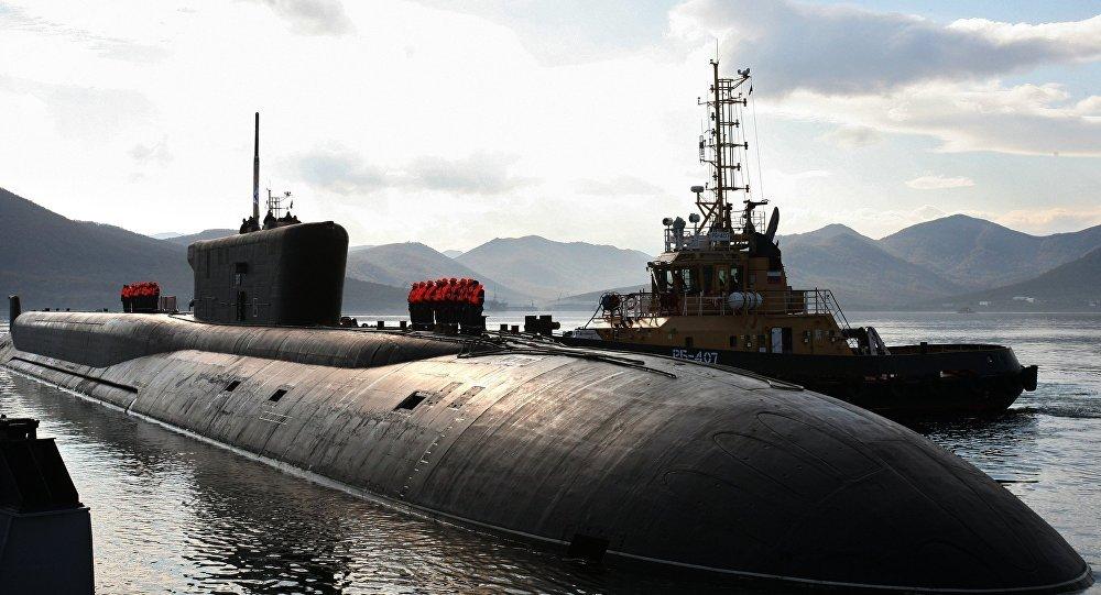 Submarino nuclear russo da classe Borei do projeto 955