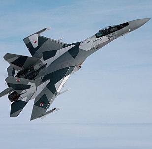 Caça russo Sukhoi Su-35S