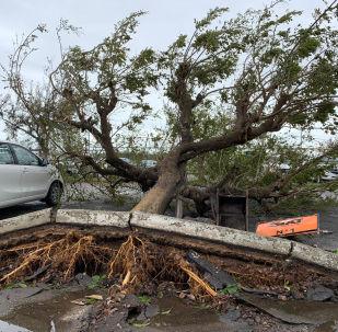 Danos causados pelo ciclone tropical Idai, cidade moçambicana de Beira