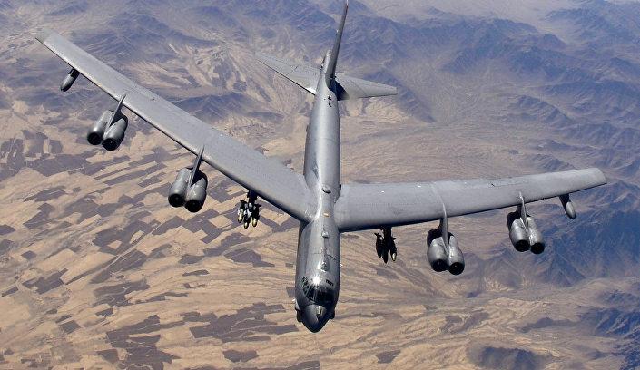 Bombardeiro B-52H da Força Aérea dos Estados Unidos