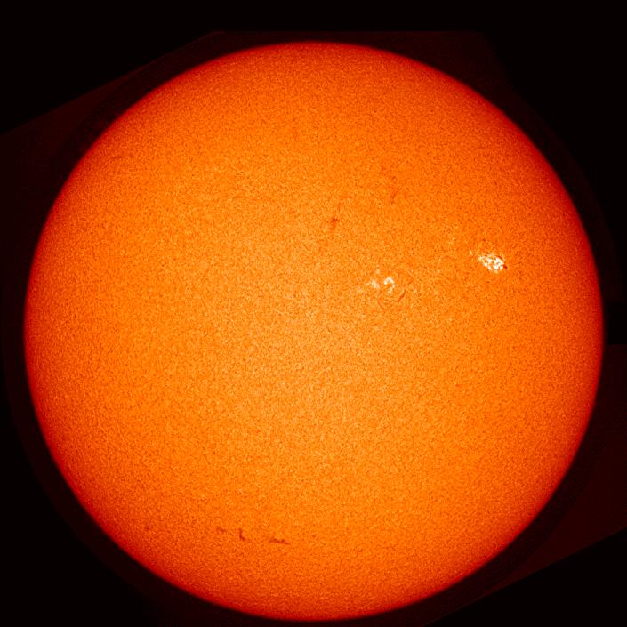 Aumento de erupções no Sol, registrado em 21 de março de 2019