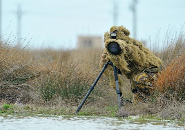 Um fotógrafo