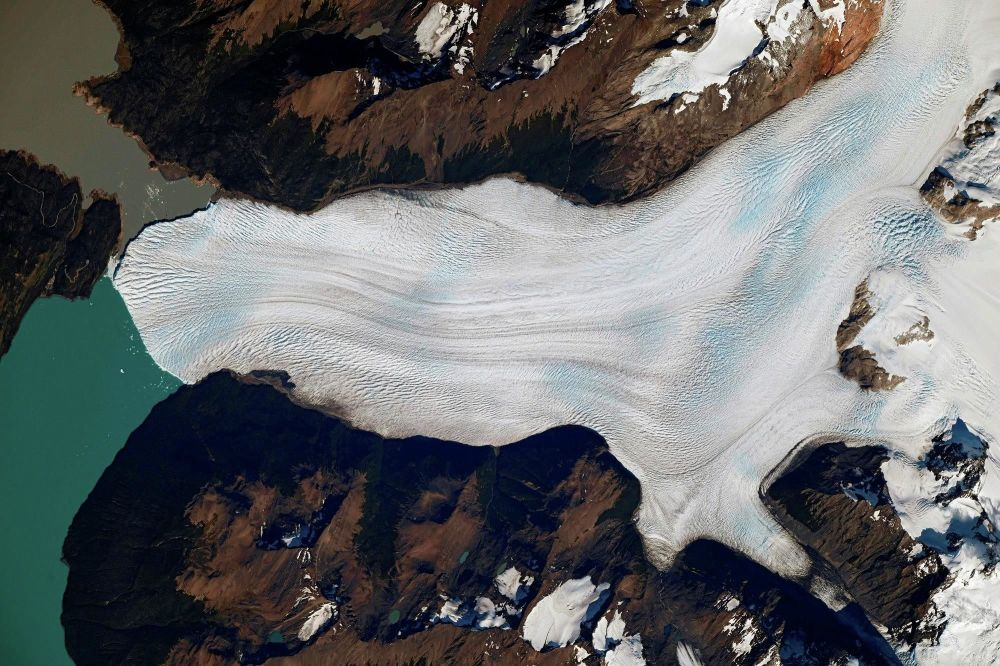 A geleira Perito Moreno, situada no Parque Nacional Los Glaciares, Argentina
