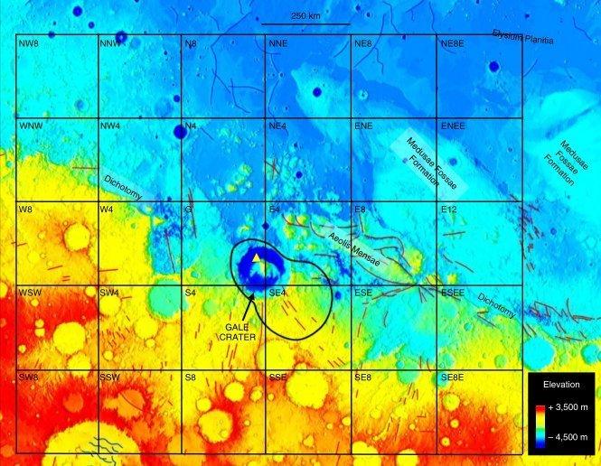Grade criada para ajudar a determinar a fonte de vestígios de metano encontrado em Marte