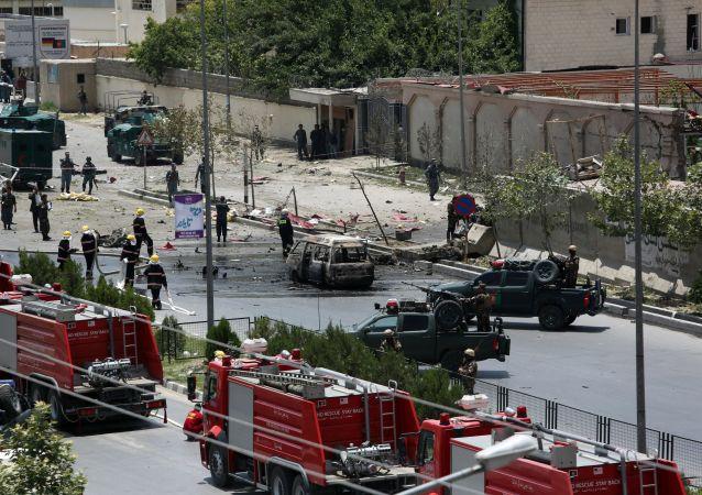 Consequências das explosões em Cabul (arquivo)