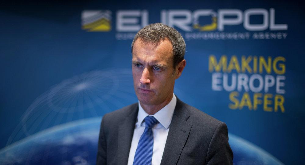 Diretor do Europol, Rob Wainwright