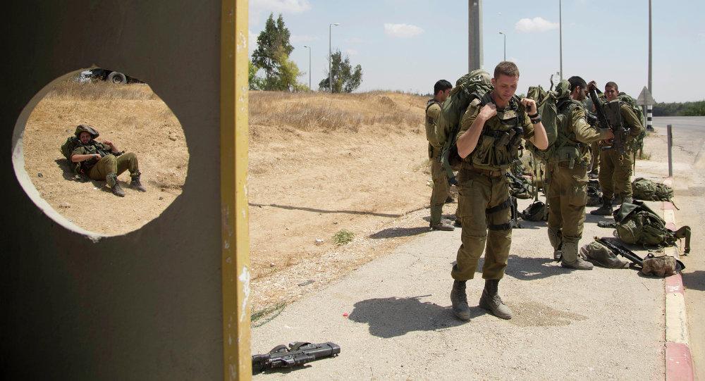 Soldados israelenses perto de fronteira da Faixa de Gaza (foto de arquivo)