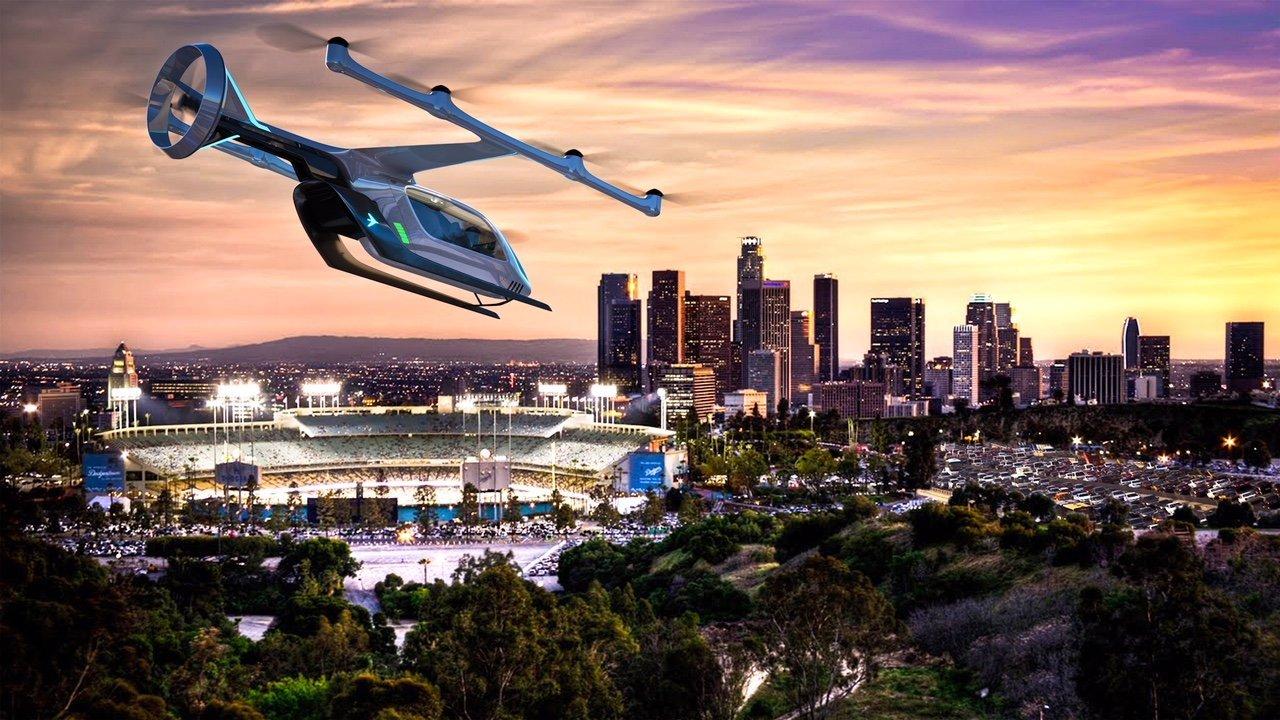 Embraer exibiu em 2019 o conceito do seu novo carro voador