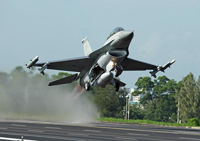 Caça F-16 da Força Aérea de Taiwan