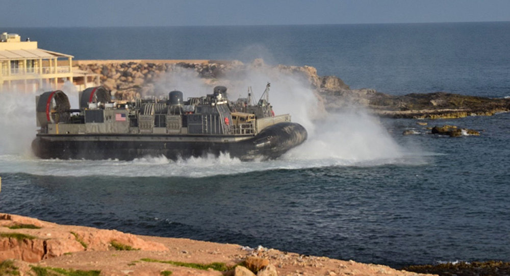 Militares dos EUA abandonando a Líbia, 7 de abril de 2019