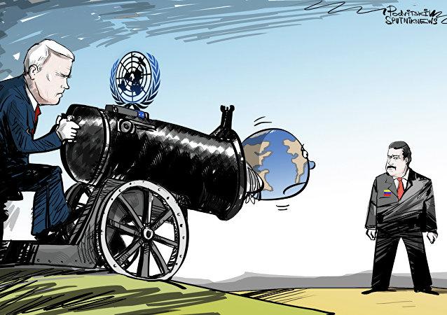 Na mira dos EUA pelo prisma da ONU