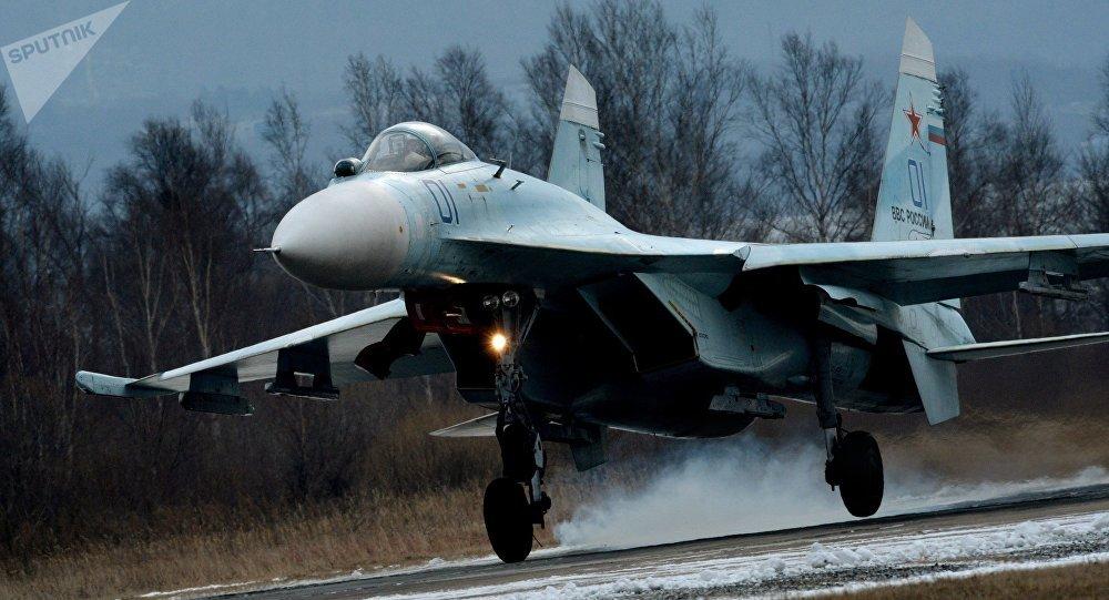 Caça russo Su-27SM