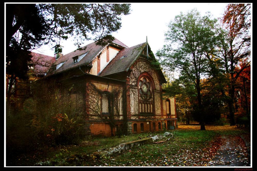Hospital abandonado em Berlim
