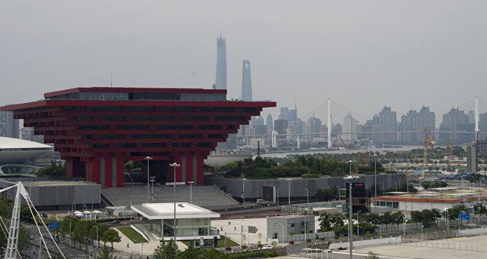 A cidade de Xangai, na China
