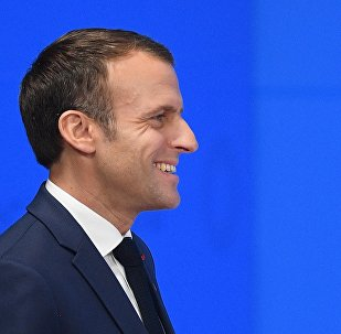 French President Emmanuel Macron attends the G20 summit in Buenos Aires, Argentina. November 30, 2018
