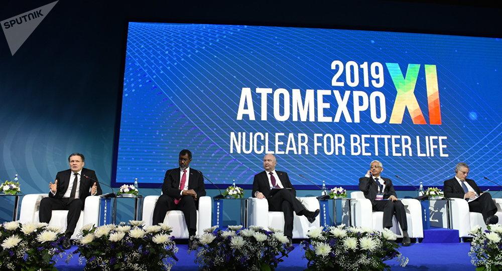 Participantes do Fórum ATOMEXPO 2019