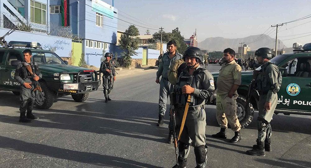 Polícia afegão, Cabul (imagem referencial)