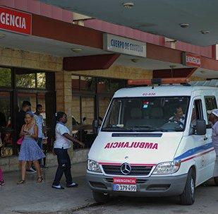 Ambulância em Cuba