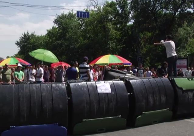 Manifestações em Yerevan