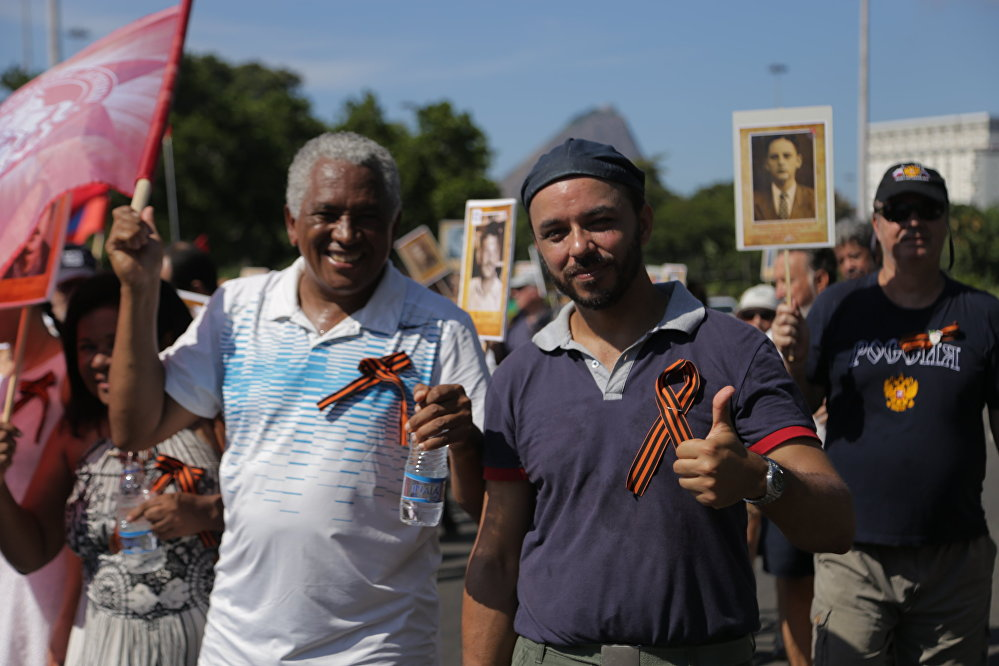 Russos e brasileiros celebram a memória dos combatentes da 2ª Guerra Mundial