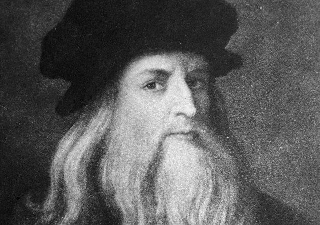 Reprodução do autorretrato de Leonardo da Vinci (imagem de arquivo)