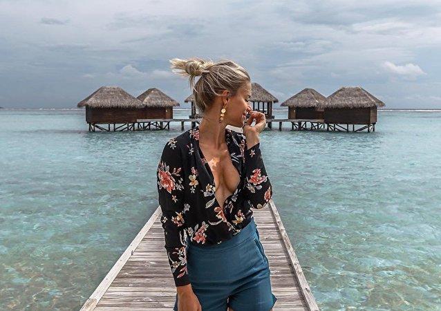 Adrienne Koleszar, policial mais sexy da Alemanha