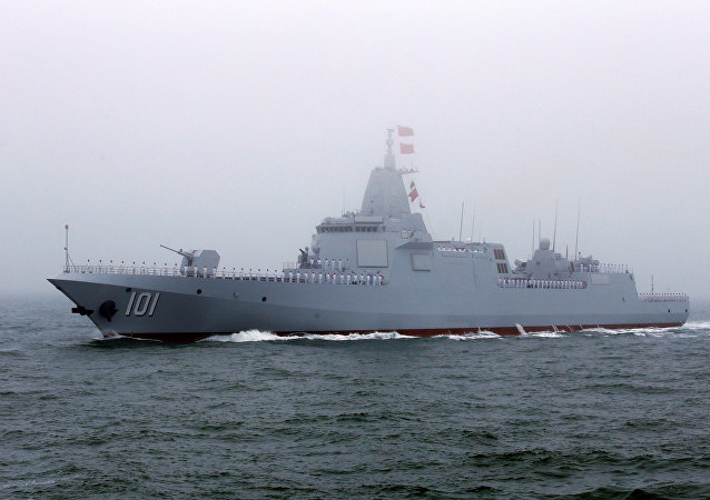 Destróier chinês Type 055