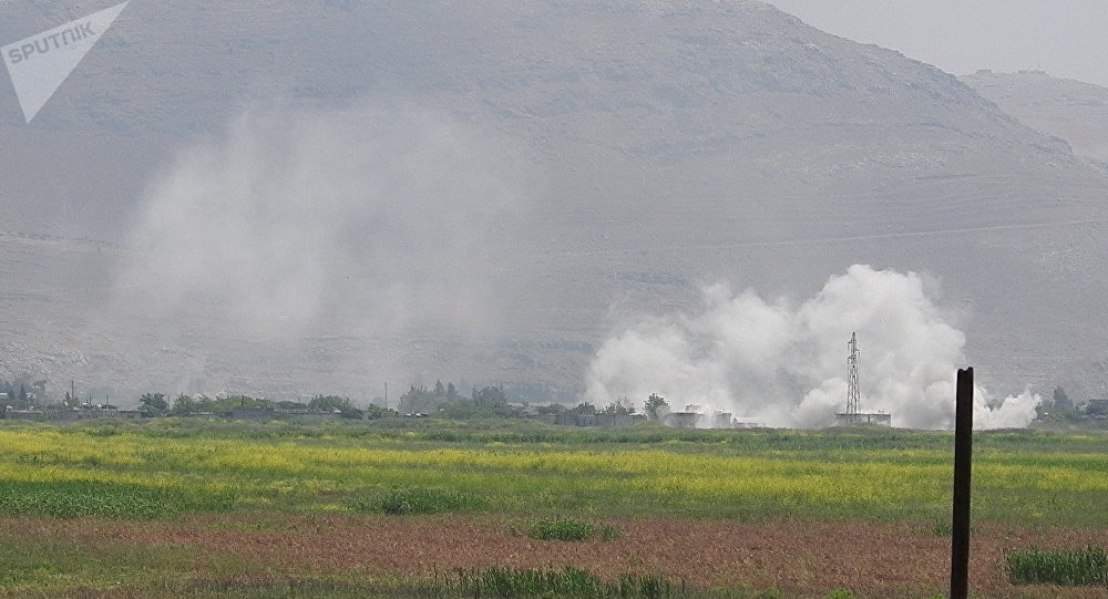 Povoado de al-Hweiz libertado dos terroristas pelas tropas de elite Tigres