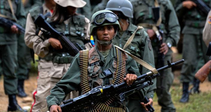 Militar venezuelano (foto de arquivo)