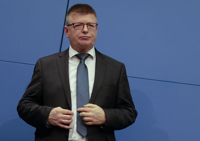 Presidente do Escritório Federal de Proteção da Constituição (BfV), Thomas Haldenwang