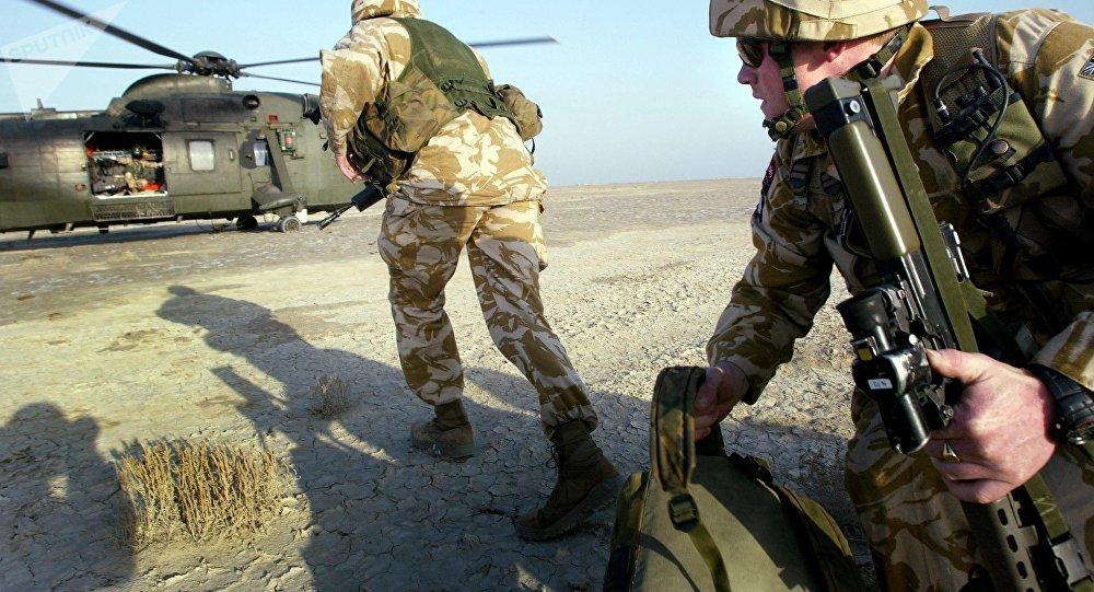 Militares das Forças Armadas do Reino Unido (imagen referencial)