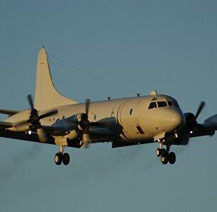 Avião de patrulhamento Lockheed P-3C CUP Orion (imagem referencial)