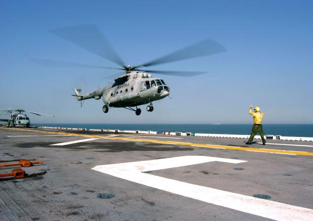 Helicóptero Mi-17 da Marinha mexicana (foto de arquivo)