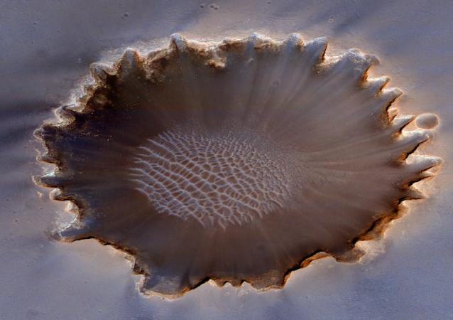 Cratera Victoria de Marte