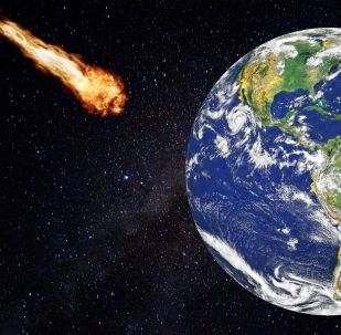 Cometa aproxima-se da Terra (imagem referencial)
