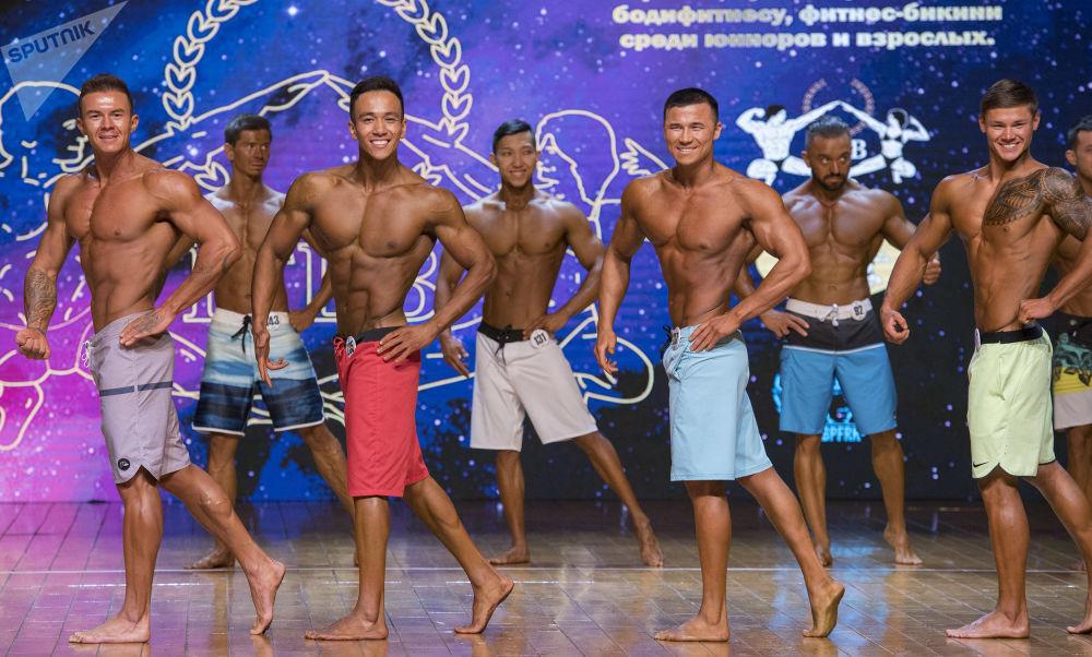 As participantes treinam muito para mostrar resultado na competição