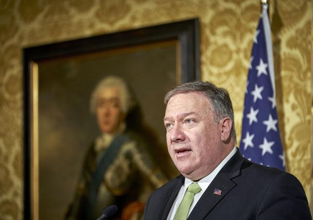 Secretário de Estado dos EUA Mike Pompeo