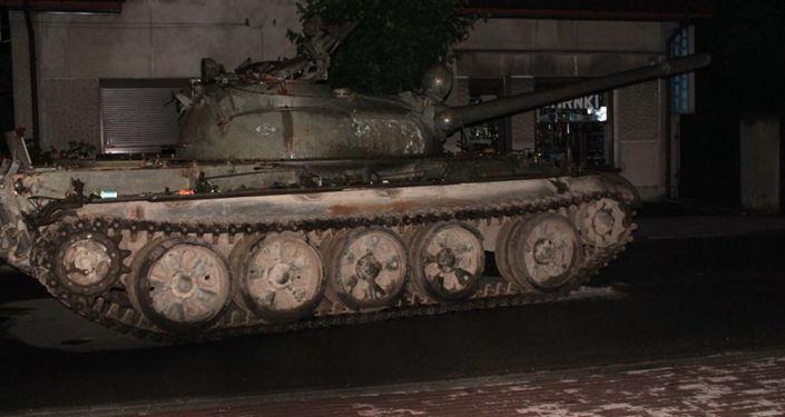 Polícia apreende tanque T-55 na Polônia