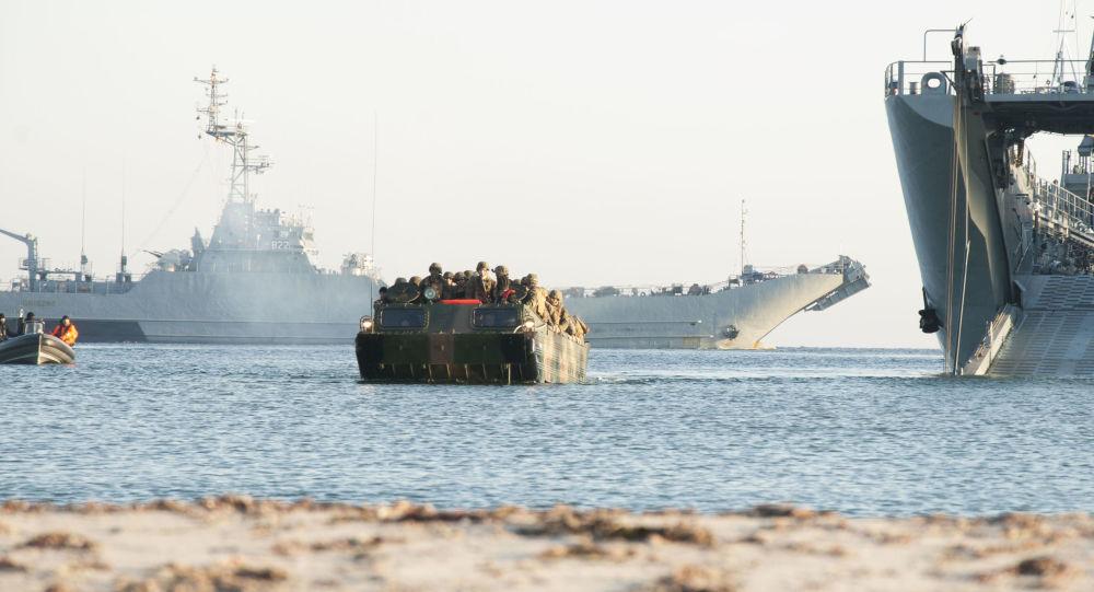 Navio ORP Gniezno da Marinha polonesa durante exercícios militares BALTOPS 2017, em 6 de junho de 2017 (imagem de arquivo) [© Foto : Domínio Público/Marinha dos EUA/Jessica Dupree]