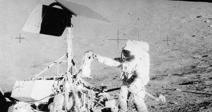 Apollo 12 on the Moon