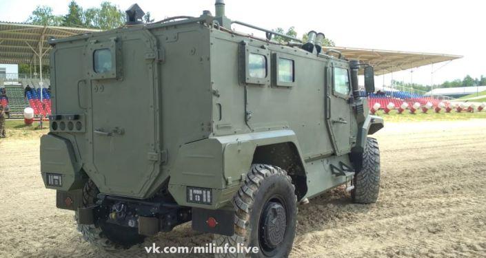 Segunda geração do veículo blindado Tigr Next