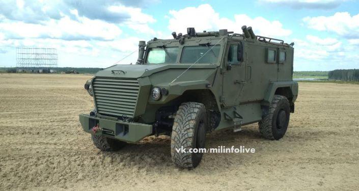 Veículo blindado Tigr Next