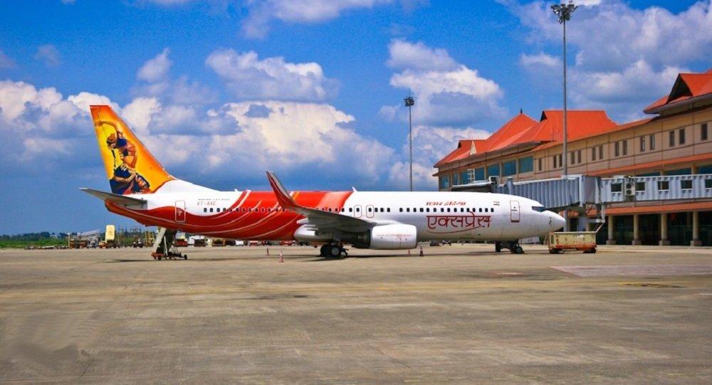 Air India Express Boeing 737-800W (Foto de arquivo)