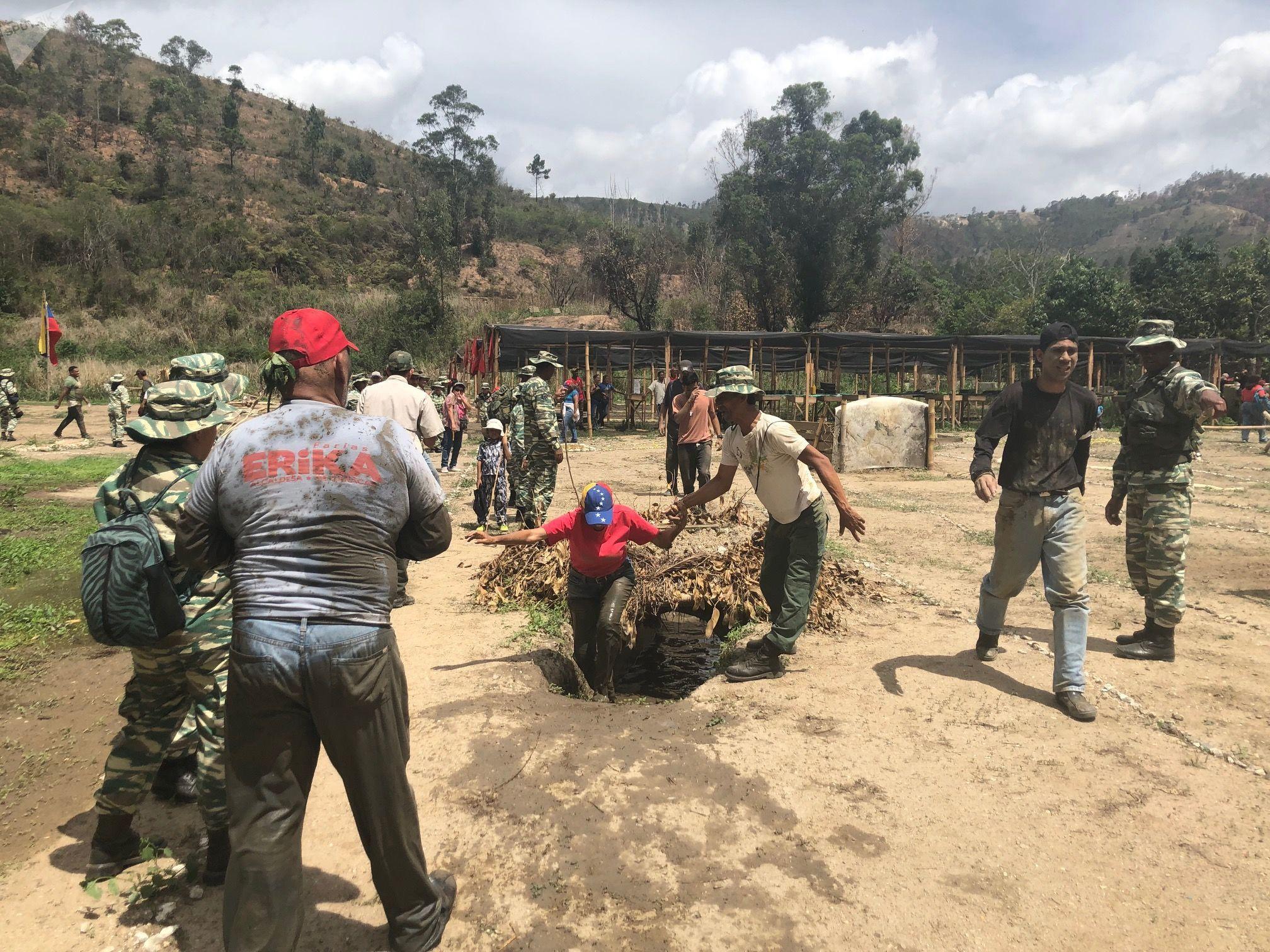 O Método Tático de Resistência Revolucionária se baseia em ter patriotas cooperantes em todos os territórios, explica o major Jesús Orozco, do Exército venezuelano
