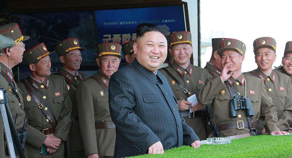 Kim Jong-un, líder da Coreia do Norte ( foto de arquivo)