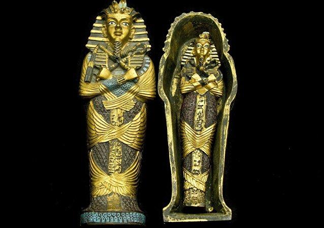 Múmia egípcia (imagem referencial)