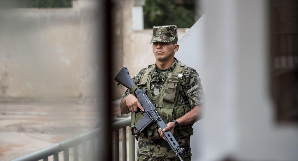 Soldado peruano (imagem referencial)