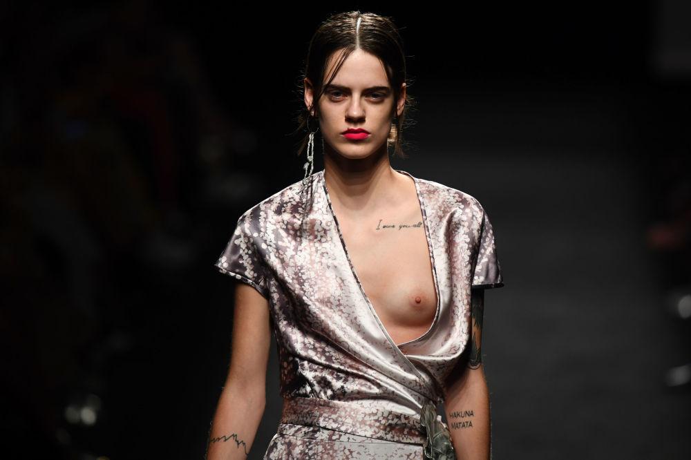 Semana de moda Mercedes Benz em Madri