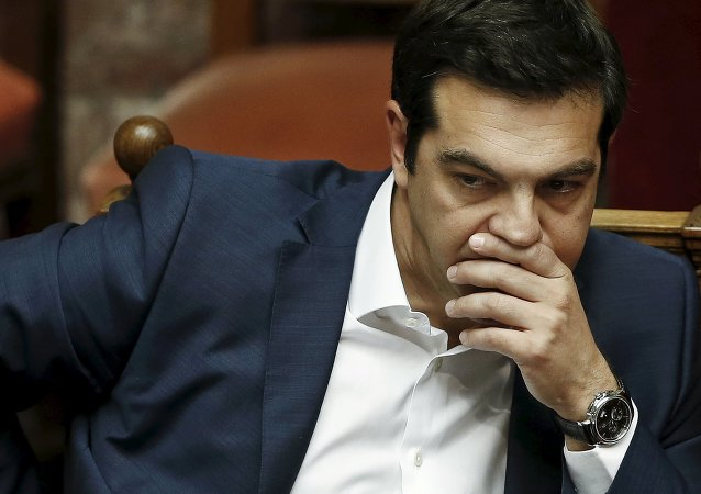 Primeiro ministro da Grécia Alexis Tsipras